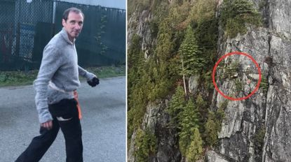 "Michael (37) volgde route via app en belandde in de mist op steile klif: ""Ik dacht 15 uur lang dat ik ging sterven"""