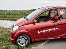 Nooit meer met de brommobiel de snelweg op dankzij de 'kronkelroutes' van Leendert (51)