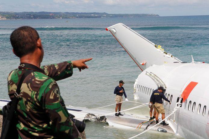 Het toestel van Lion Air stortte neer in de Javazee.