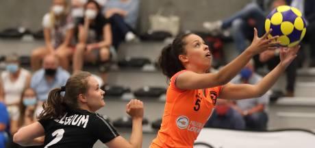 PKC-korfbalster Sanne van der Werff nu ook international: 'Dit maakt het seizoen helemaal af'