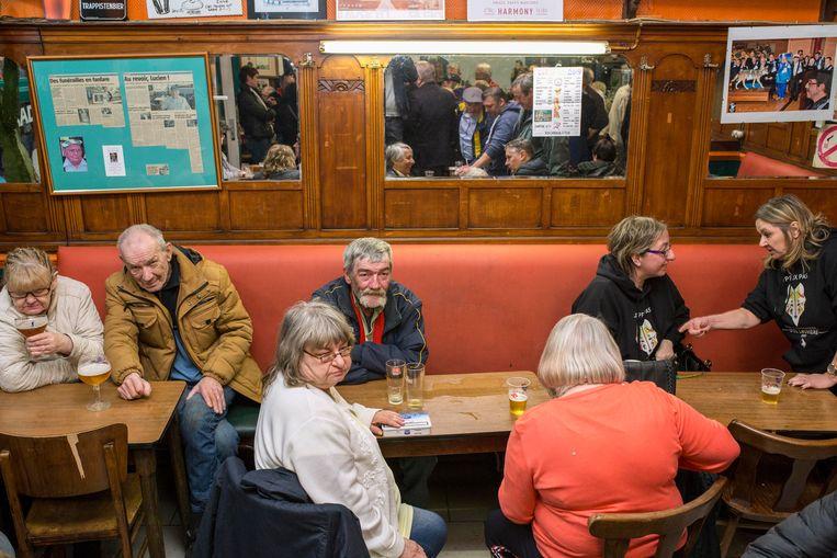 Palais de la bière, La Louvière.    Beeld jef van den bossche