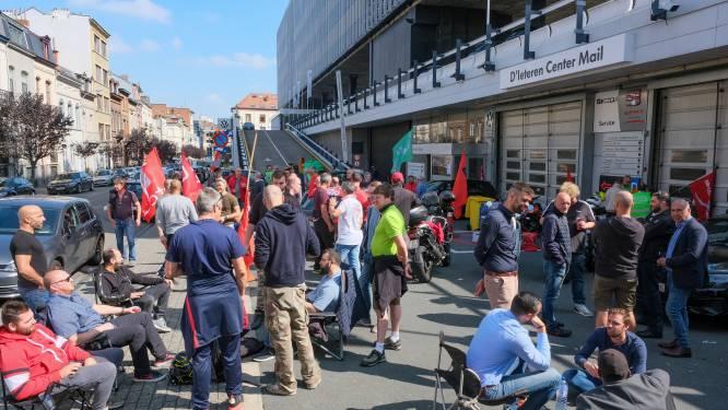 Werknemers garages D'Ieteren stemmen tegen voorstel directie, maar gaan weer aan werk