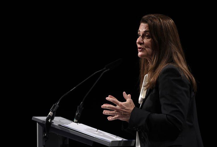 Melinda Gates. Beeld rv