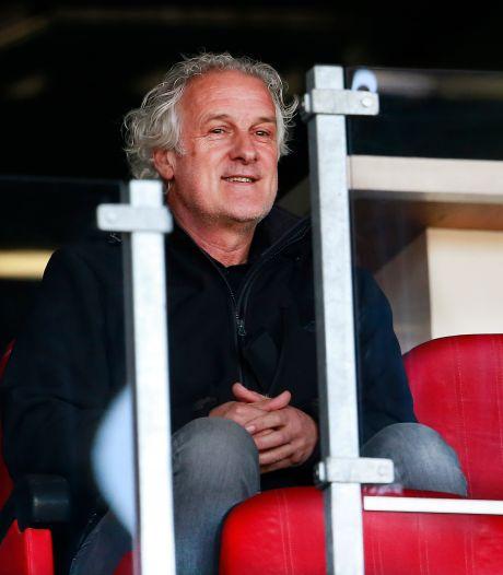 Fred Rutten bij NEC: de spiedende ogen van een trainer in ruste