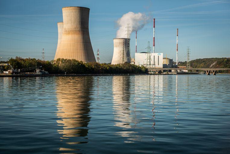De kerncentrale van Tihange, langs de boorden van de Maas. Beeld Bart Leye