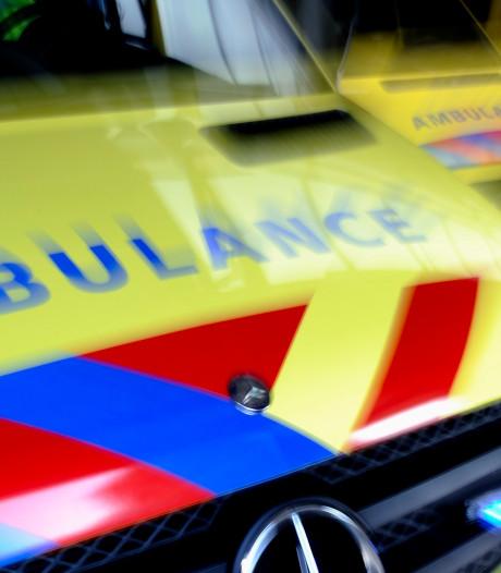 Motorrijder en auto botsen op A58 bij Wouwse Plantage