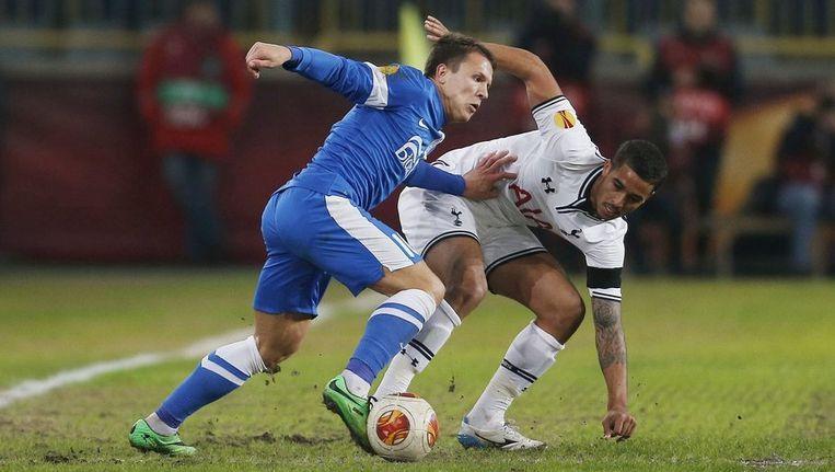 Konoplynka scoorde de enige goal. Beeld photo_news