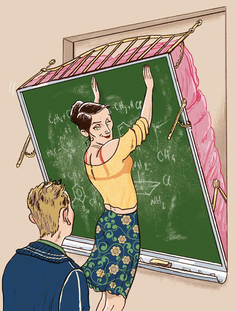 verboden liefde op school Beeld Stijn Felix / Humo