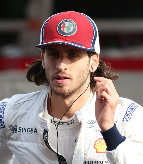 Giovinazzi ook volgend seizoen bij Alfa Romeo