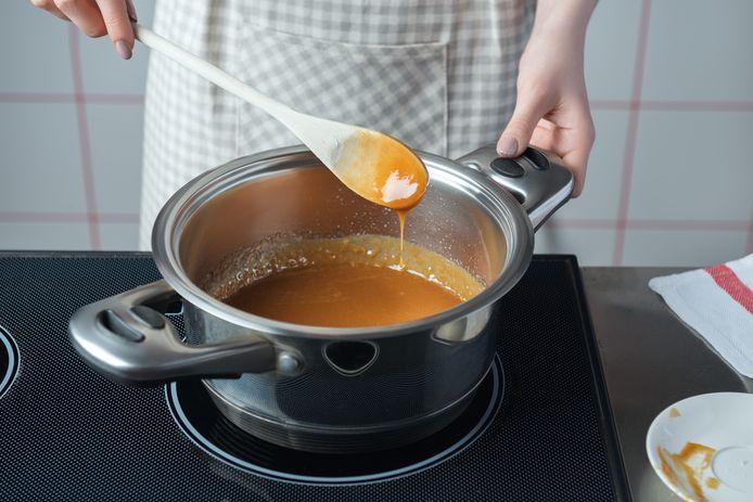 Als je saus inkookt, zit er nog meer smaak in.