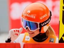 Twee keer wereldbekergoud voor 'Apeldoornse' schansspringster Sara Marita Kramer. 'Megacool'