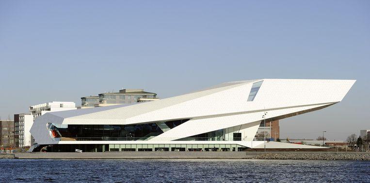 Het Eye filmmuseum in Amsterdam, waar veel arthouse-films worden vertoond. Beeld anp