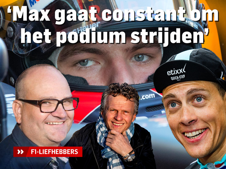 F1-liefhebbers: Max gaat constant om het podium strijden
