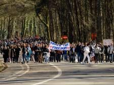 Des centaines de personnes manifestent au bois de la Cambre contre les mesures anti-Covid
