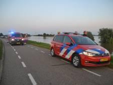 Hulpdiensten massaal op de been voor 'persoon te water' in Waal, maar treffen niemand aan