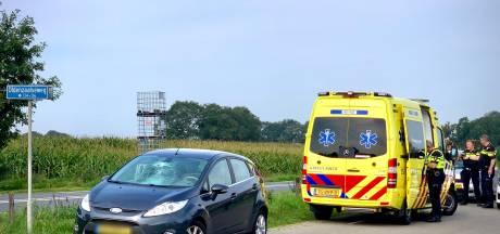 Fietser gewond na aanrijding met auto in Fleringen