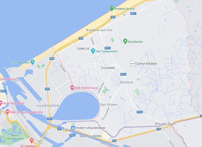De inbreker berekende op Google Maps hoe snel de politie op de camping in Bredene zou zijn.