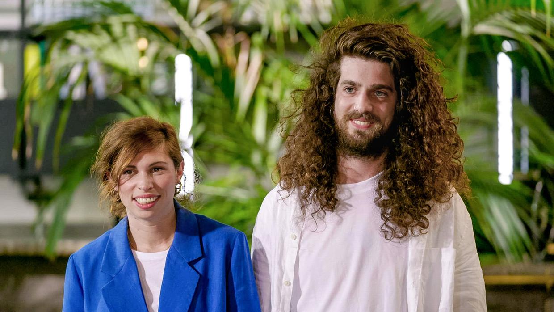 Jerina en Harry tijdens de finale Beeld vtm