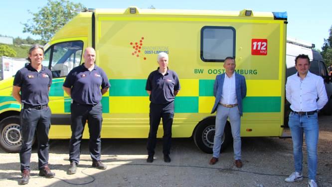 Nieuwe ziekenwagen zorgt voor snellere interventies in Oudsbergen