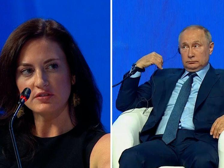 Commotie om interview 'te mooie' journaliste met Poetin