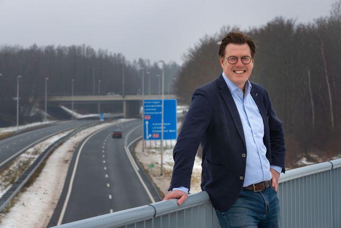 """Olaf ten Hoopen is bestuursvoorzitter van accountantskantoor MTH en voorstander van aanleg Lelylijn: ,,Als stad zonder treinstation word je niet serieus genomen."""""""