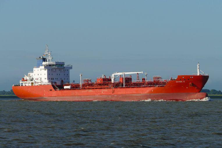 Het Nederlandse schip Davide B. Beeld Hollandse Hoogte / dpa Picture-Alliance