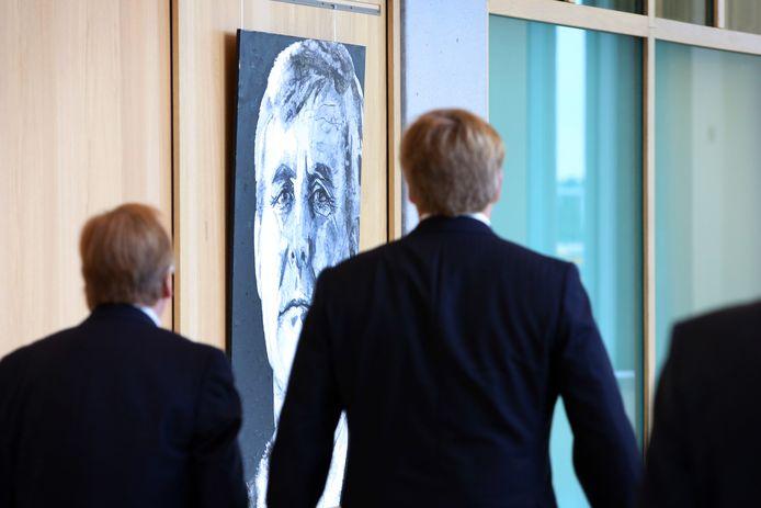 Koning Willem-Alexander bij opening rechtbank Breda.