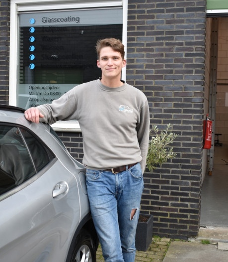 Denzel (24) maakt van bijverdienste goedlopend bedrijf
