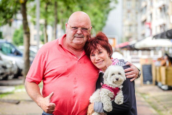 """Michel Van Den Brande en Jacky Lafon op de Grote Markt van Blankenberge: """"We hebben meer gemeen dan we dachten."""""""