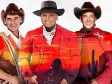 Arena wordt saloon voor cowboys Gerard, René en Jeroen