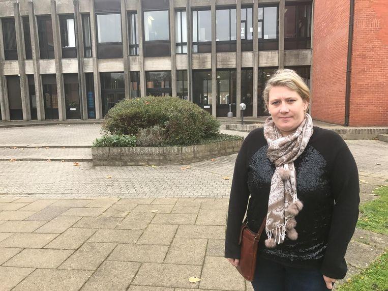 Petra Bogaert, weduwe van Frédéric kwam persoonlijk naar de rechtbank.