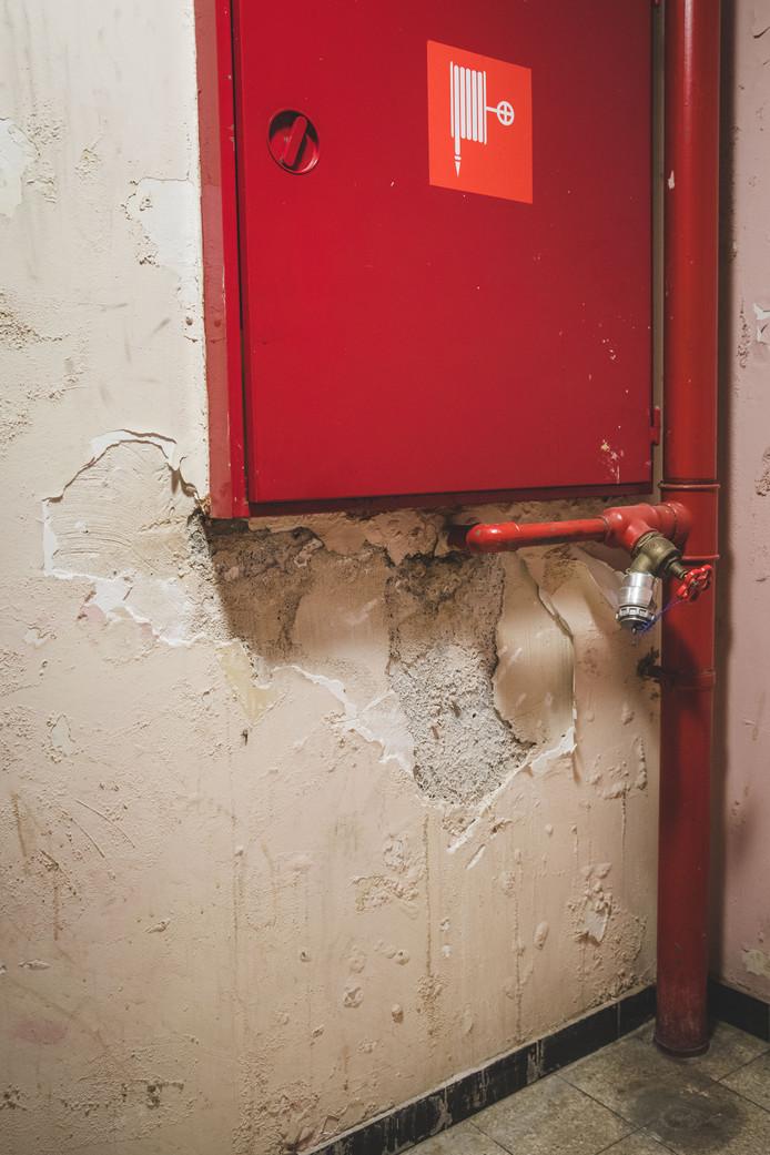 De staat van de brandblusapparaten is bedenkelijk