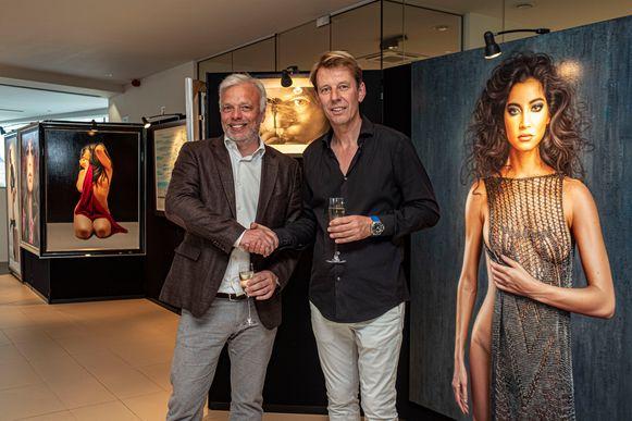 Exclusieve voorstelling BMW en kunst bij Jorssen met Philip Eeckels en Anthony Charton.