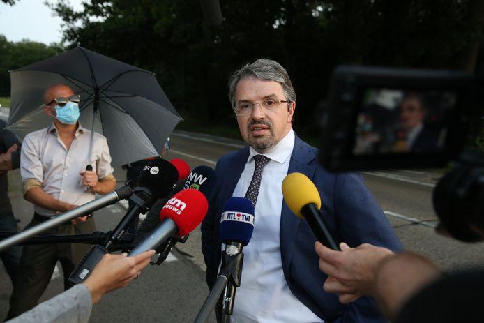 Frédéric Van Leeuw, procureur fédéral.