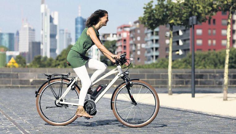 De elektrische fiets wordt steeds meer verkocht.  Beeld