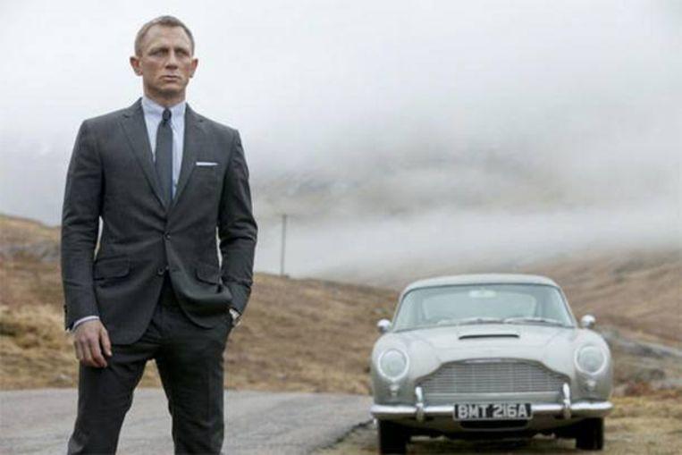 Daniel Craig in Skyfall. Beeld rv