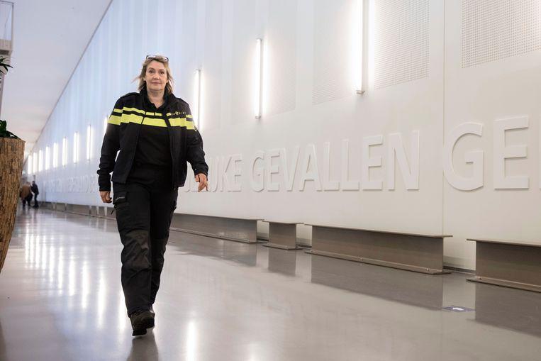 Politiecommandant Martine Dijkstra. Beeld Inge Van Mill