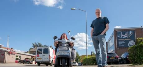 Hobbelige Vening Meineszstraat is onneembare vesting voor Edese scootmobieler