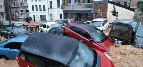 Noodweer slaat opnieuw toe in België, overstromingen  in provincie Namen: 'Dit is waanzin'