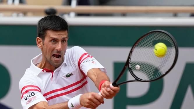 Nummer één komt met de schrik vrij: Djokovic keert tij na twee sets achterstand tegen boeman van Goffin