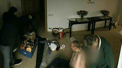 """VIDEO. Bewakingsbeelden tonen gewelddadige """"home invasion"""" in Rekkem"""