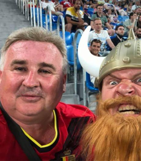 """Le périple d'un fan des Diables à l'Euro: """"En Russie, c'est comme s'il n'y avait jamais eu le Covid"""""""
