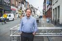 Tim Joiris in de Overpoortstraat