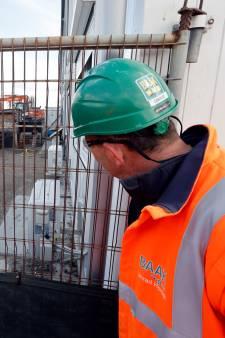 'Kippen van Conrad' zorgen voor verse eitjes tijdens de lunch van bouwers tunnelverbinding