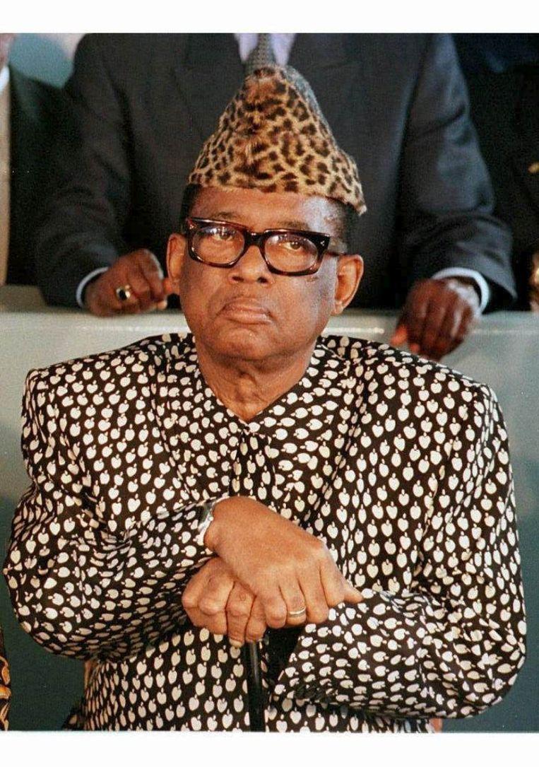Mobutu Sese Seko (Democratische Republiek Congo/Zaïre). Beeld EPA