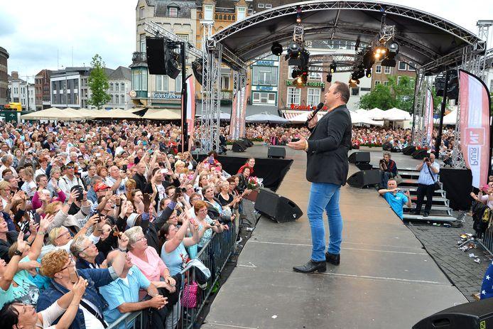 Frans Bauer Festival tijdens het Levenslied Den Bosch in 2015.