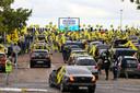 De protestactie van Vlaams Belang bracht gisteren in Brussel duizenden mensen op de been