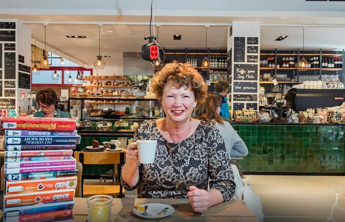 Nan van Schendel in de Chocoladefabriek in Gouda.