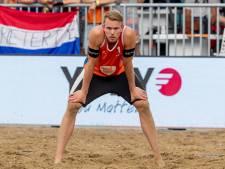 Bornse beachvolleyballer Stefan Boermans naar laatste vier in Gstaad