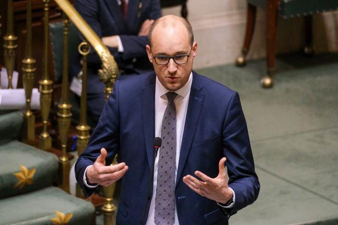Le ministre des Finances, Vincent Van Peteghem (CD&V)
